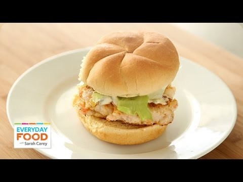 Shrimp Burgers – Everyday Food with Sarah Carey