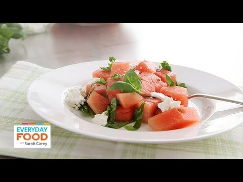 Watermelon and Feta Salad – Everyday Food with Sarah Carey