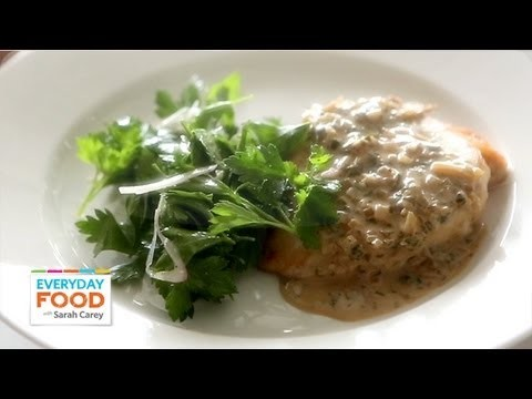 Sautéed Chicken in Mustard and Herb Sauce –  Everyday Food with Sarah Carey