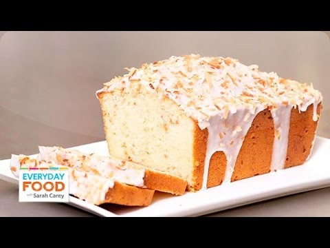 Coconut-Buttermilk Pound Cake – Everyday Food with Sarah Carey