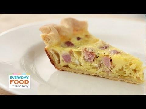 Gluten Free Recipe: Ham-and-Swiss Quiche – Reader Request Week – Everyday Food with Sarah Carey