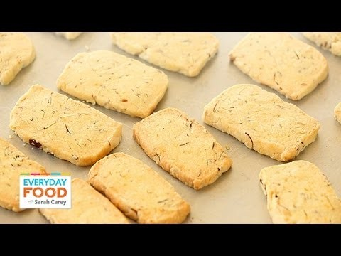 Almond-Orange Shortbread – Everyday Food with Sarah Carey