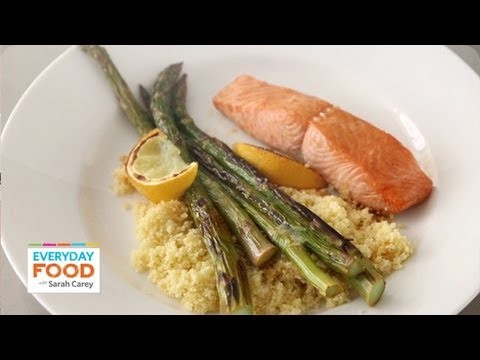 Broiled Salmon with Lemon and Soy – Everyday Food with Sarah Carey