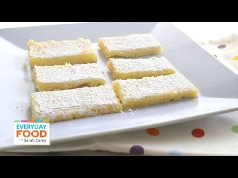 Refreshingly Tangy Lemon Square Recipe – Everyday Food with Sarah Carey