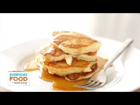 Apple-Buttermilk Pancakes – Everyday Food with Sarah Carey