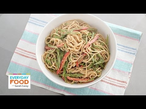 Homemade Sesame Noodle Recipe – Everyday Food with Sarah Carey