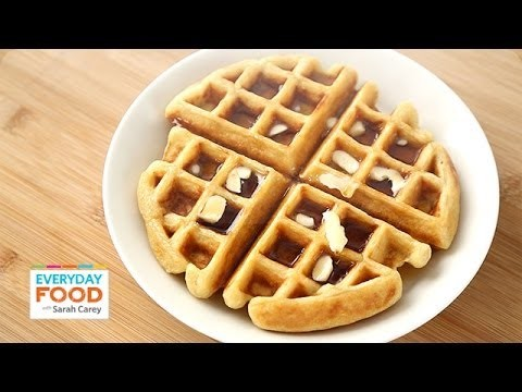 Buttermilk Waffle – Everyday Food with Sarah Carey