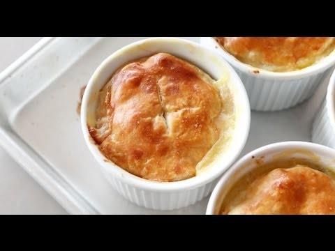 Sarah's Chicken Potpies | Everyday Food with Sarah Carey