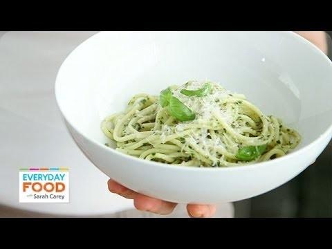 Classic Basil Pesto Recipe – Everyday Food with Sarah Carey