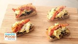 Bacon, Egg and Mushroom Breakfast Toast Recipe – Everyday Food with Sarah Carey