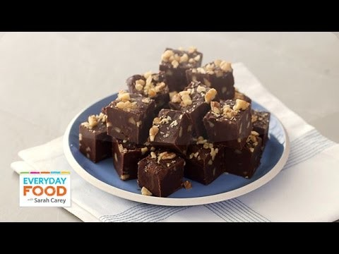 Easy Walnut Fudge Recipe – Everyday Food with Sarah Carey
