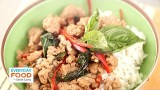 Spicy Thai Basil Pork with Sweet Coconut Rice – Everyday Food with Sarah Carey