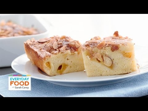 Fresh Peach Buckle Recipe – Everyday Food with Sarah Carey