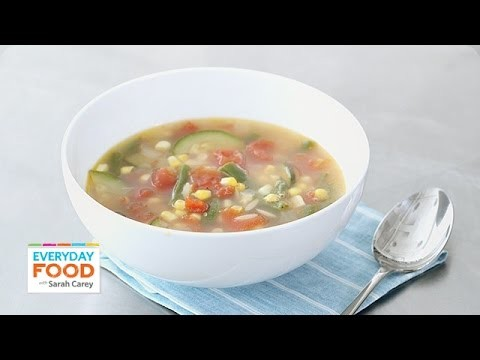 Cold-Weather Vegetable Soup – Everyday Food with Sarah Carey