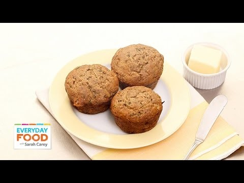 Zucchini-Banana Breakfast Muffin Recipe – Everyday Food with Sarah Carey