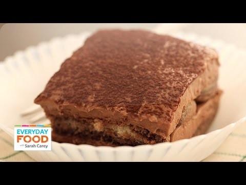 Double Chocolate Tiramisu Recipe – Everyday Food with Sarah Carey