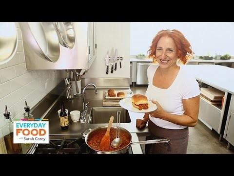 Classic Sloppy Joe Recipe – Everyday Food with Sarah Carey