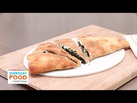 Spinach and Cheese Calzone – Everyday Food with Sarah Carey