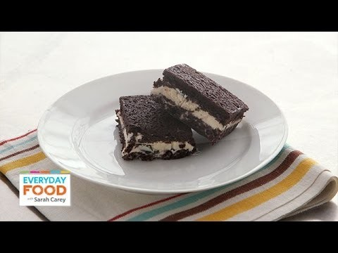 Brownie-Ice Cream Sandwich – Everyday Food with Sarah Carey
