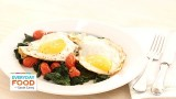 Quickly-Cooked Eggs with Spinach and Tomatoes – Everyday Food with Sarah Carey