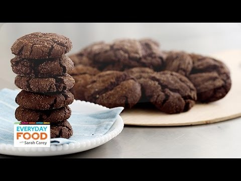 Mexican Hot Chocolate Cookie Recipe – Everyday Food with Sarah Carey