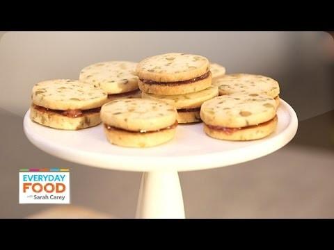 Pistachio Shortbread Sandwich Cookies – Everyday Food with Sarah Carey