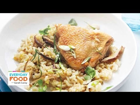 Asian-Style Chicken and Rice – Everyday Food with Sarah Carey