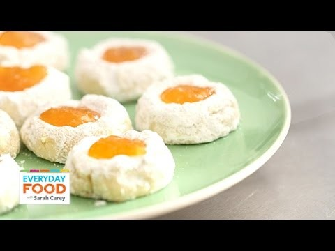 Citrus Thumbprint Cookies – Everyday Food with Sarah Carey