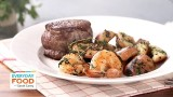 Steak and Shrimp with Parsley Potatoes – Everyday Food with Sarah Carey