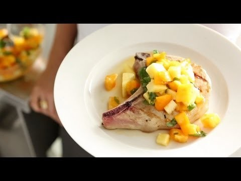 Yellow Tomato-Pineapple Relish with Pork Chops | Everyday Food with Sarah Carey