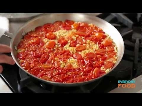 Skillet Shrimp and Orzo | Everyday Food with Sarah Carey