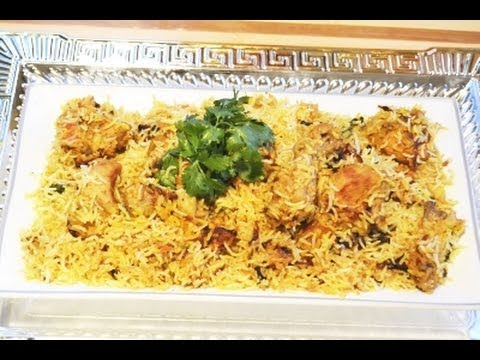 Bihari Chicken Biryani Recipe