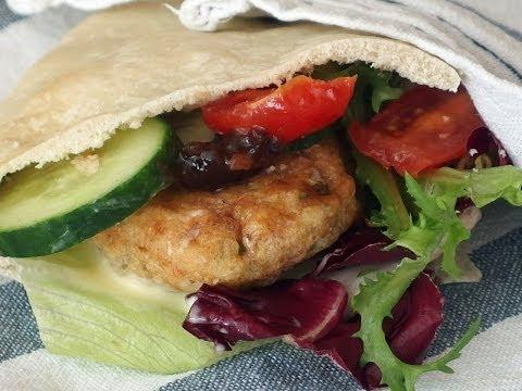 Fish cake salad sandwich recipe