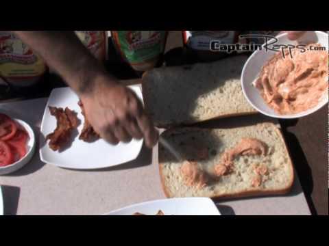 Captain Pete Rapps – Chokoloskee Chipotle Sheepshead Fish Super Sandwich