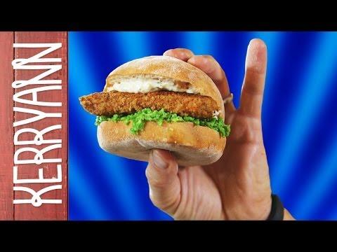 Fish Finger Sandwich   Kerryann Dunlop
