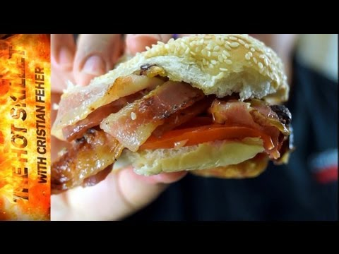 How to make the ultimate bacon sandwich bacon-ator | The Hot Skillet with Chef Cristian Feher