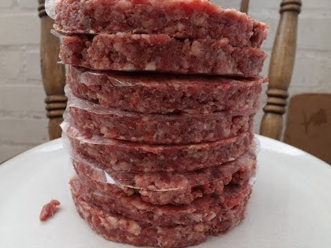How To Make Beef Burgers.The Ultimate Burger.