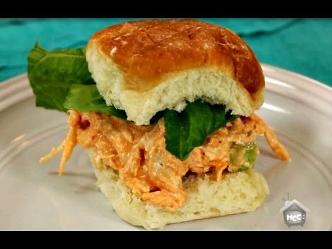 How to Make Buffalo Chicken Salad Sandwiches | Dinner | Six Sisters Stuff