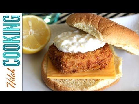 Filet-O-Fish Sandwich (Copy Cat Recipe)   Hilah Cooking