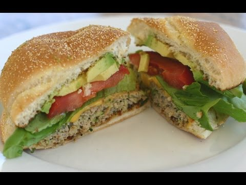 How To Make A Turkey Burger That's Juicy And Flavorful – It's Healthy Too!  By Rockin Robin