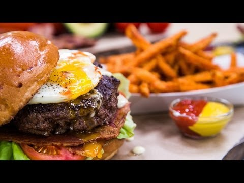 Home & Family – How to make Eggs Benedict Burger