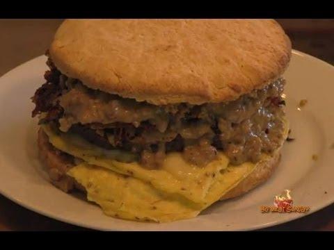 Make a Big Breakfast Burger Recipe  – By BigMeatSunday