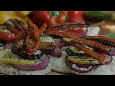 Veggie Sandwich Recipe – How to Make Grilled Veggie Sandwiches