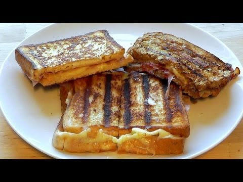 Toastie Cheese Sandwich How to make recipe cheese toast