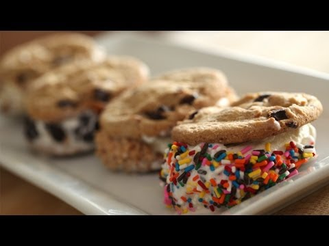 How to Make Ice Cream Sandwiches || KIN EATS