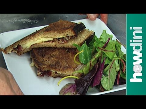 How to make a gourmet grilled cheese sandwich – recipe