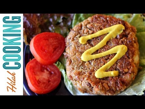 Veggie Burger Recipe – Vegetarian Black Bean Burger