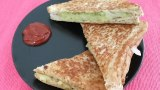 Masala toast sandwich without Toast Maker – Indian healthy Snacks recipe