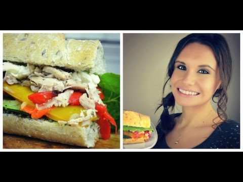 Best Leftover Turkey Sandwich   Quick & Healthy Lunch