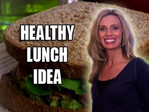 Healthy Lunch Idea: Salmon Avocado Sandwich